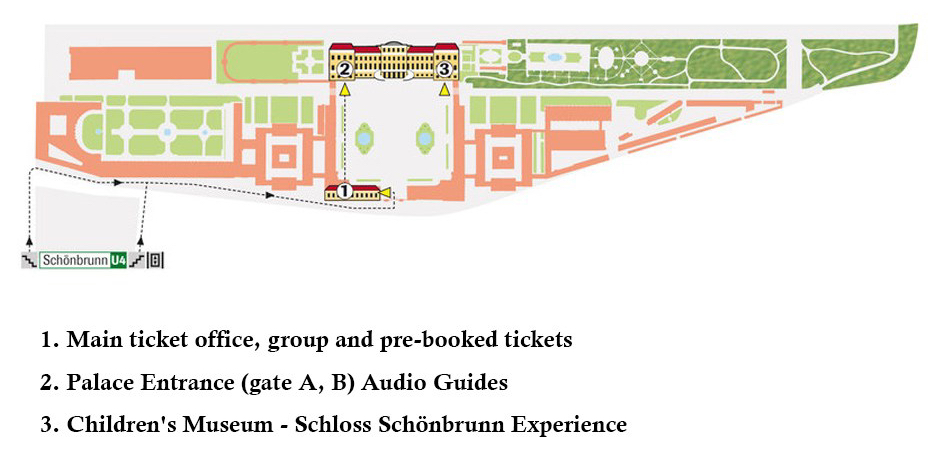 維也納景點|熊布朗宮(美泉宮)Schloss Schönbrunn門票、交通、路線&Sisi Ticket介紹