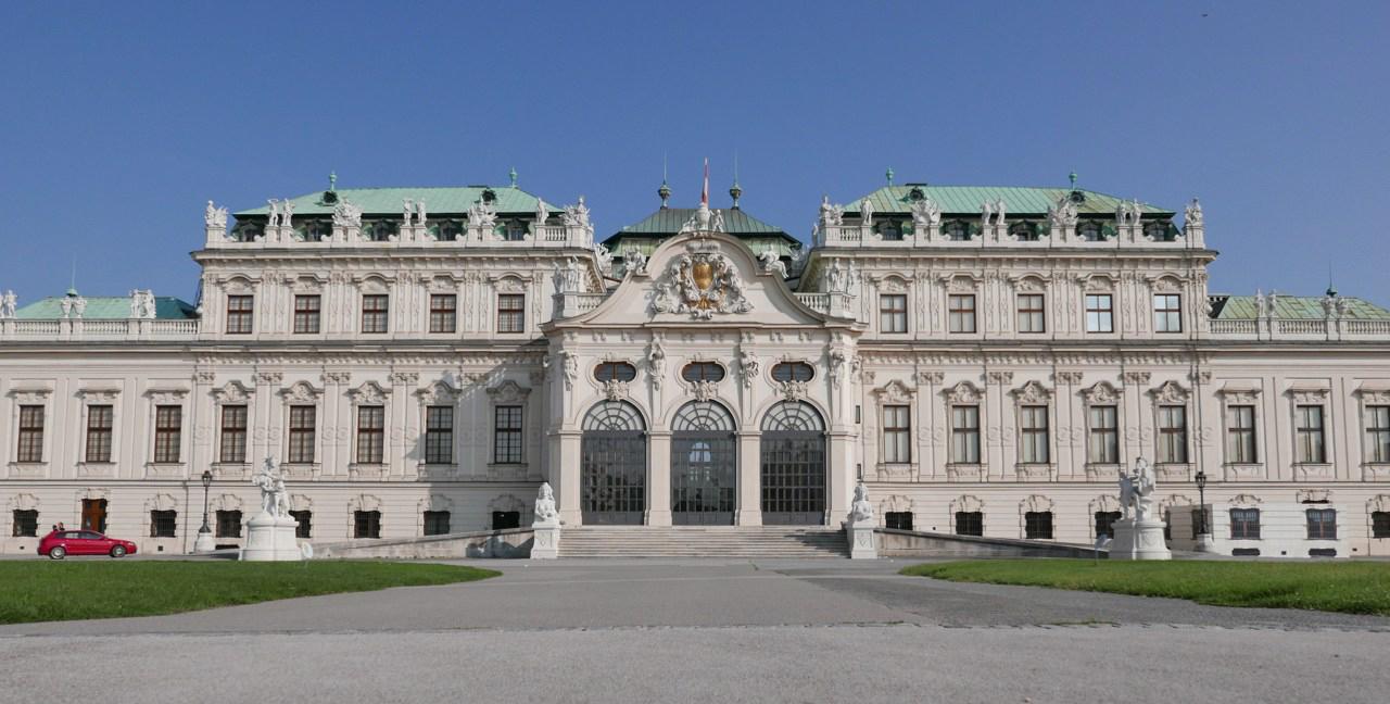 維也納景點|貝爾維蒂宮(美景宮)看the kiss&豬肋排Salm Bräu