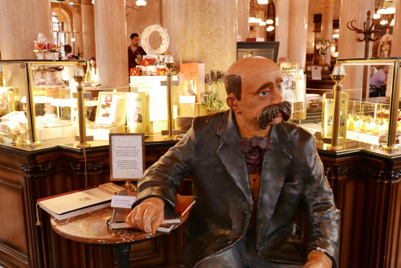 維也納景點|中央咖啡館Café Central&奧地利國菜炸豬排