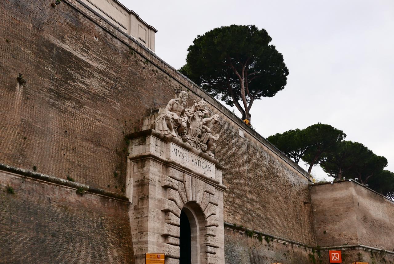 梵蒂岡景點|梵蒂岡博物館七小時不間斷-重點地圖攻略、埃及館、松果庭院