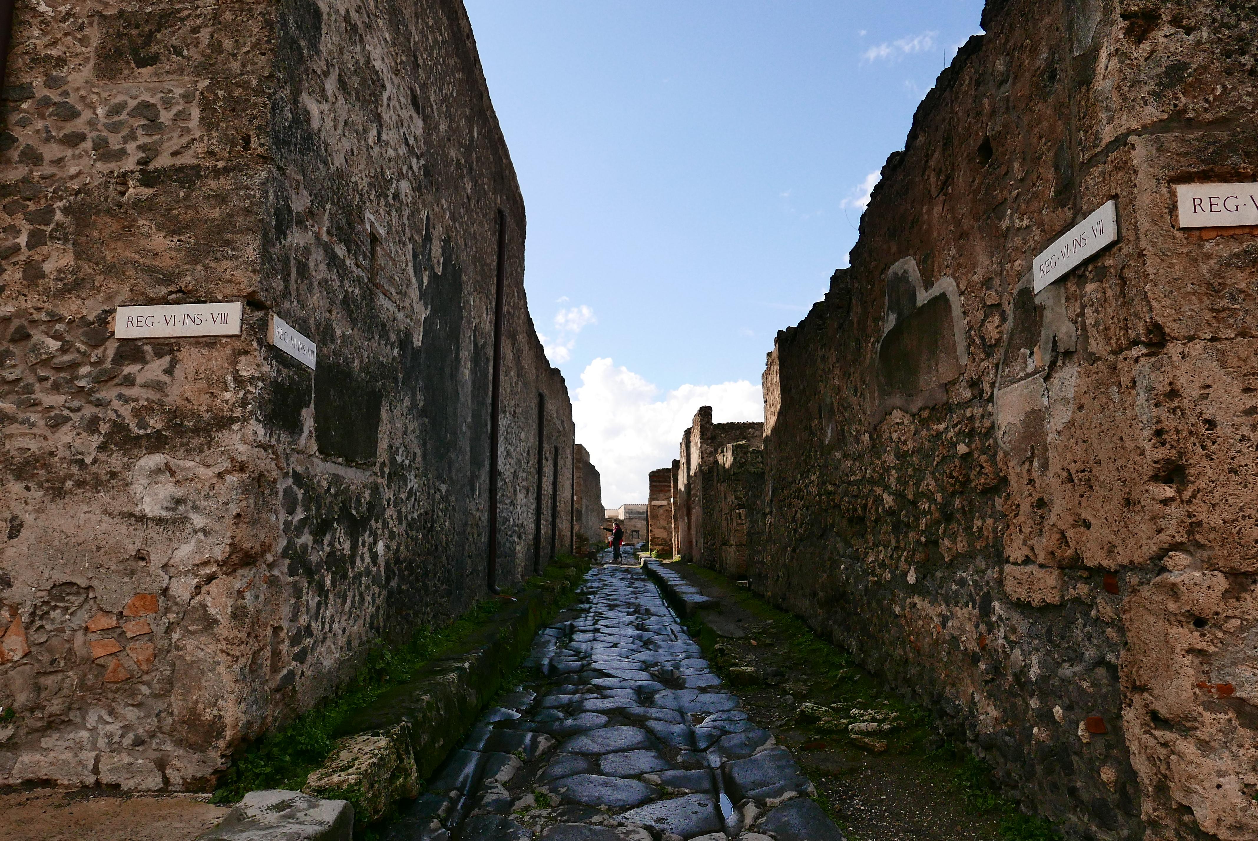 義大利 龐貝 Pompei 古城 考古