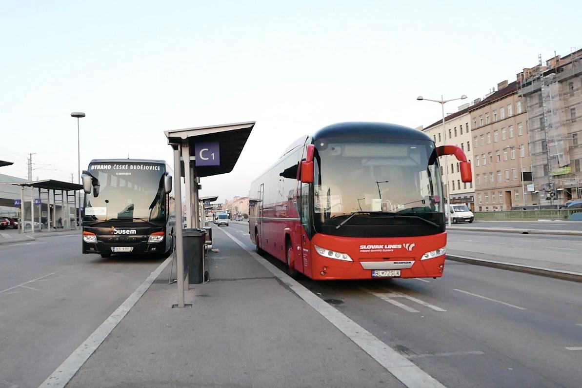 布拉提斯拉瓦交通|維也納到布拉提斯拉瓦巴士Slovak Lines教學