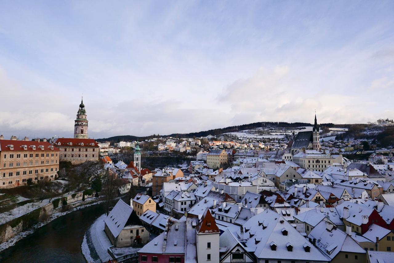 丟掉手機去旅行Day2捷克|庫倫洛夫Český Krumlov一日遊、景點、交通介紹