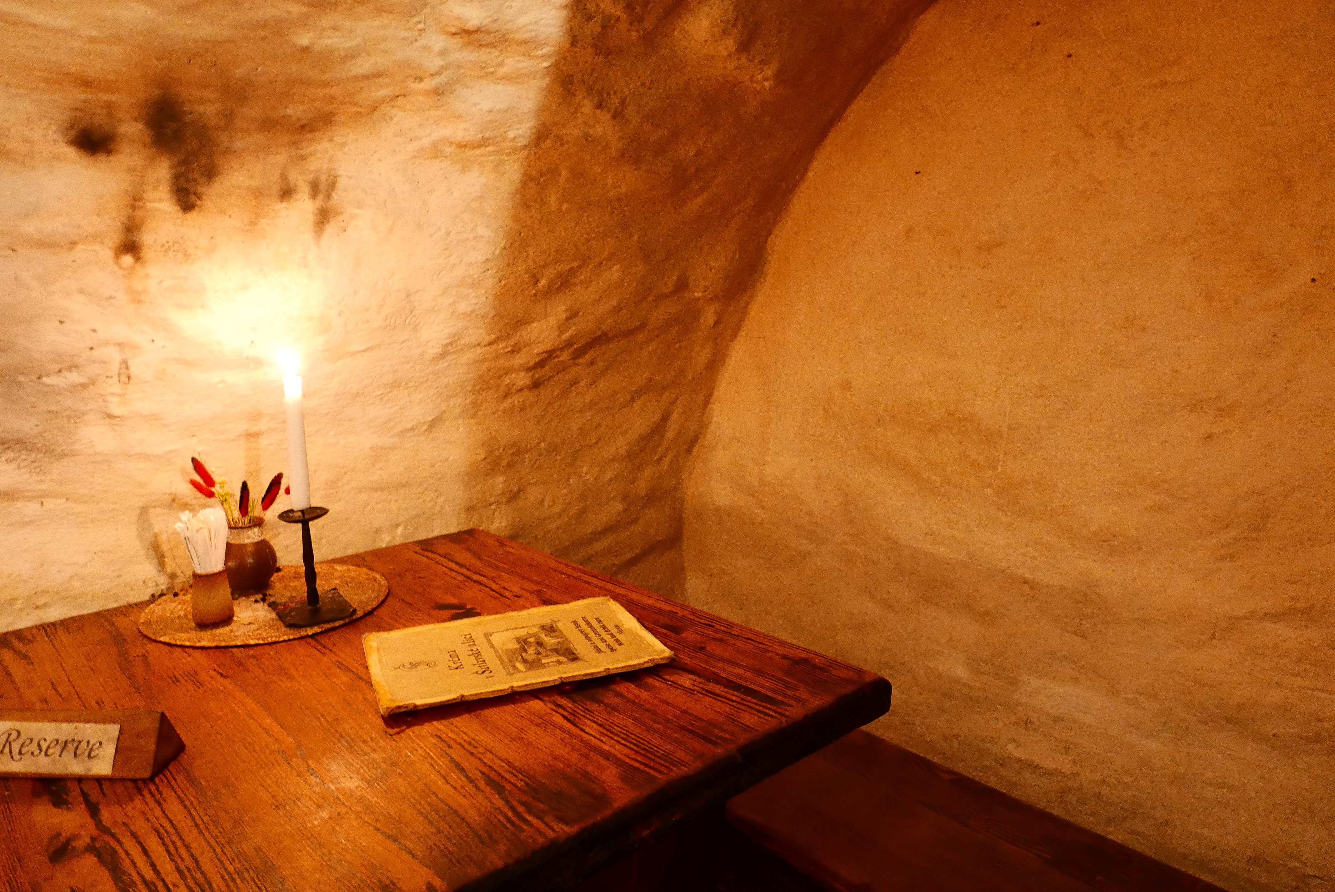 捷克 CK 庫倫洛夫 美食 地窖餐廳 青年旅館