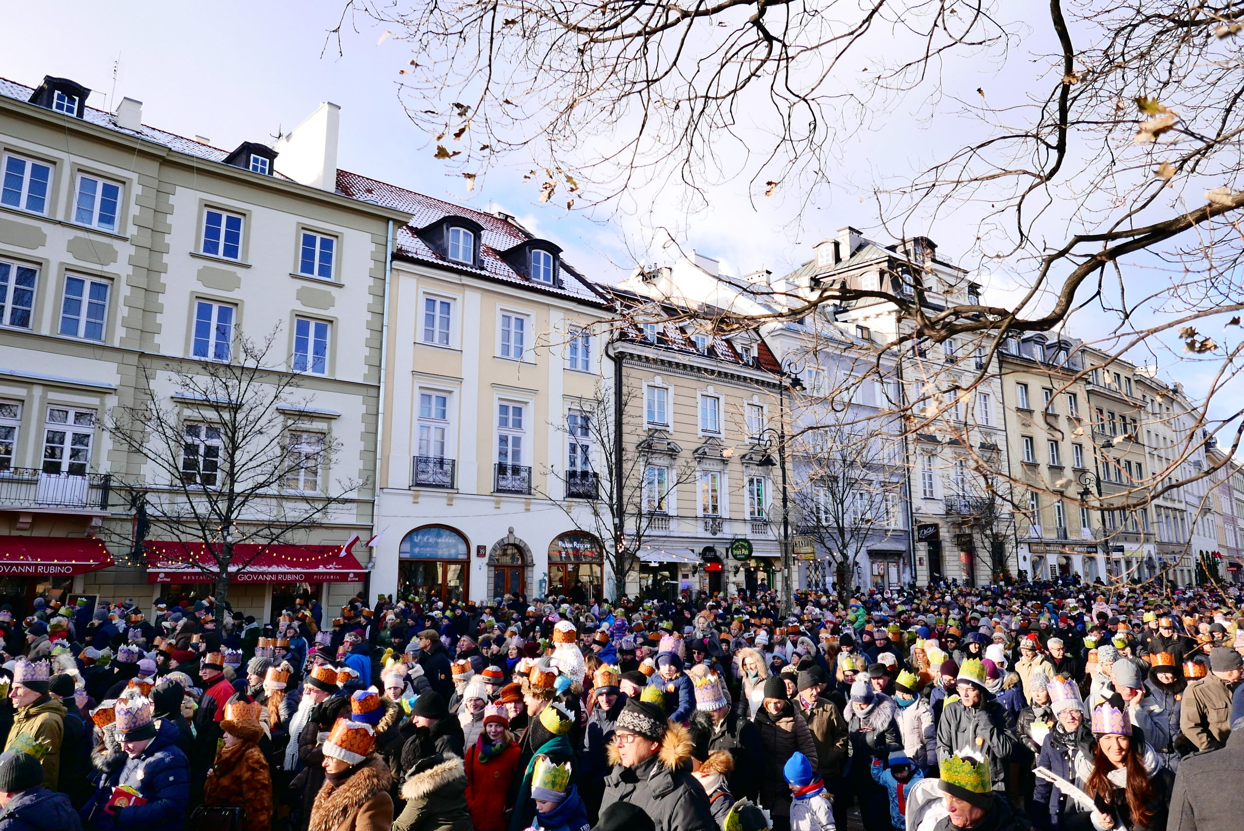 丟掉手機去旅行Day6波蘭|華沙Warsaw一日遊巧遇主顯節慶典