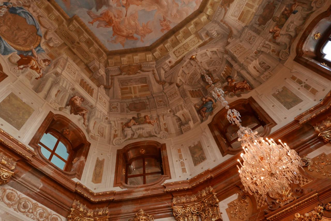 維也納景點 貝爾維蒂宮(美景宮)