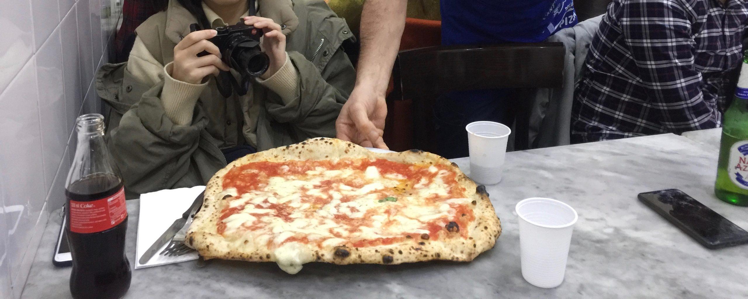 拿坡里美食|拿坡里披薩L'Antica Pizzeria Da Michele〈享受吧!一個人的旅行〉