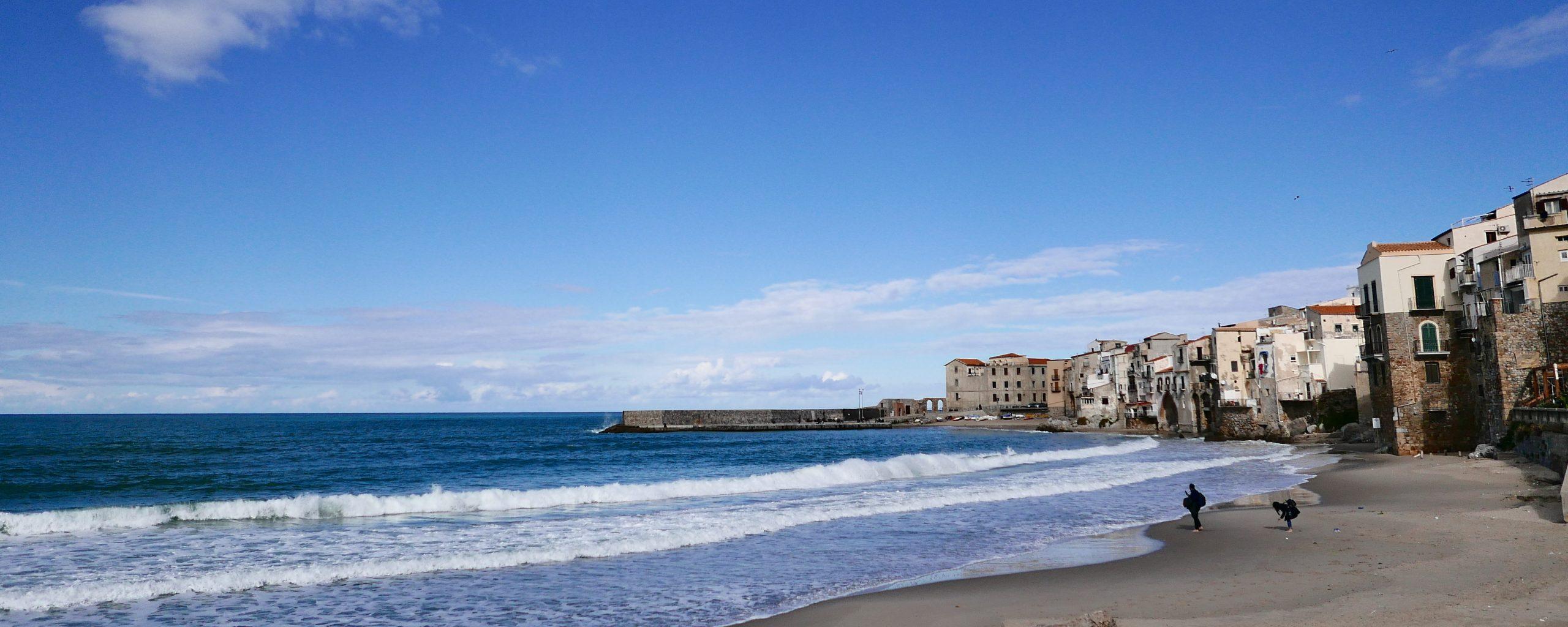 西西里島景點|切法盧Cefalu景點一日遊、切法盧岩、主教座堂